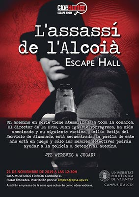 Escape Room 'L'assassí de l'alcoià'